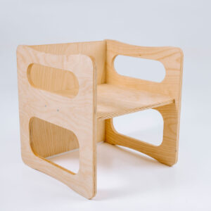 Kuubiktool väike PUVICO, Montessori, laste mööbel, astmepink